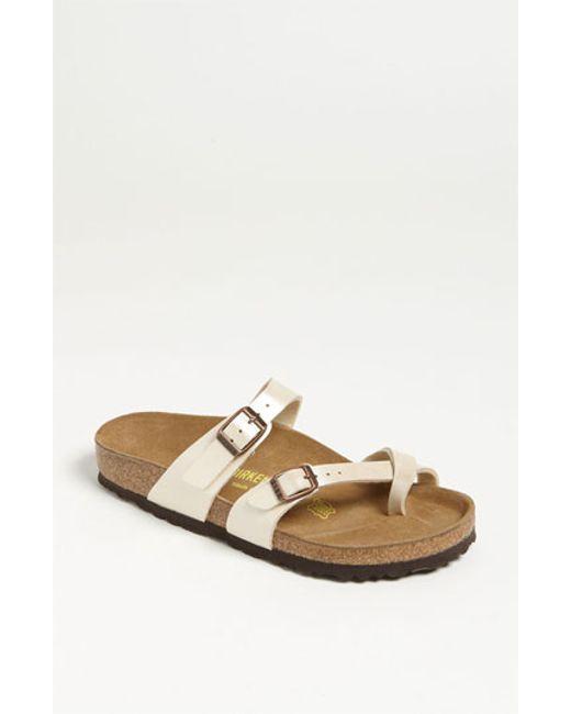 Birkenstock | Natural 'mayari' Birko-flor(tm) Sandal | Lyst