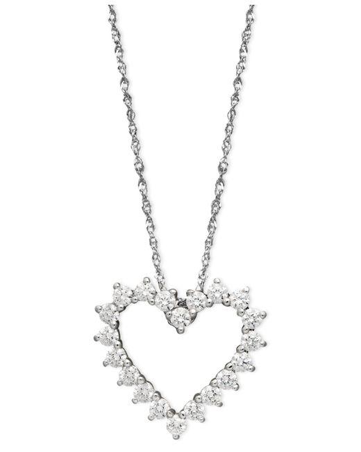 Arabella | White Swarovski Zirconia Heart Pendant (1 Ct. T.w.) | Lyst