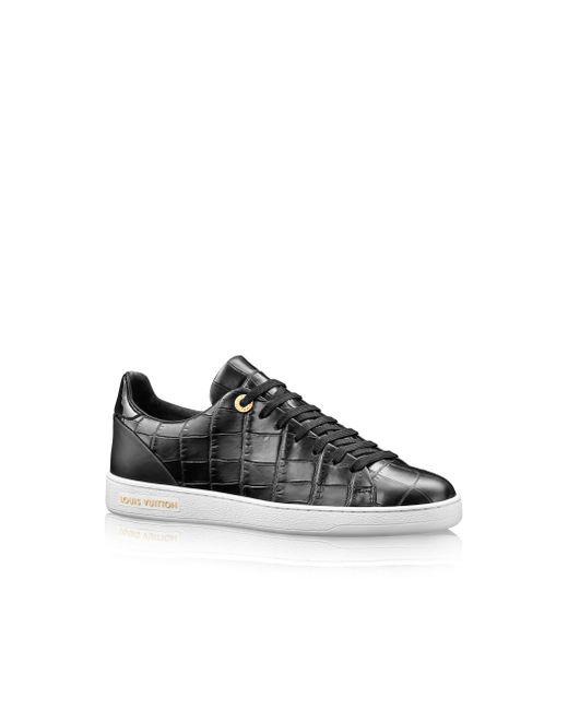 Louis Vuitton | Black Frontrow Sneaker | Lyst