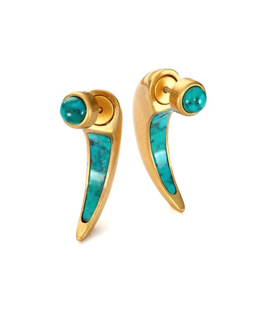 Pamela Love   Blue Sue?o Turquoise Ear Jacket & Stud Earrings Set   Lyst