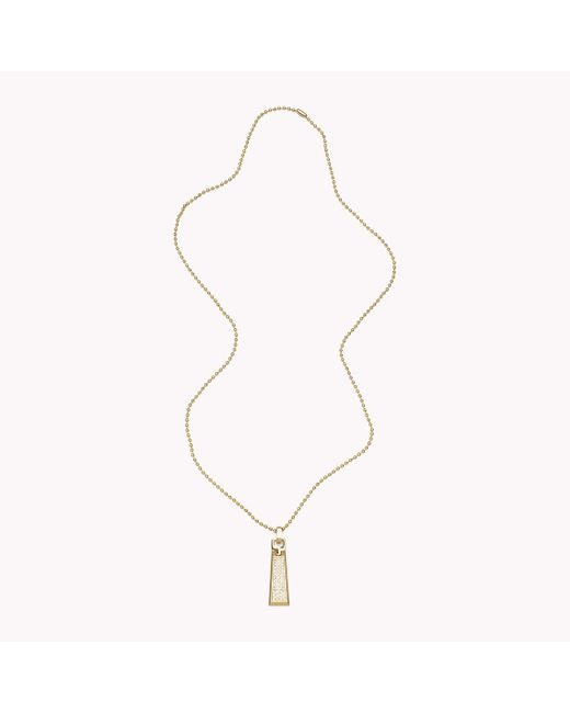 Tommy Hilfiger | Metallic Pendant Necklace | Lyst