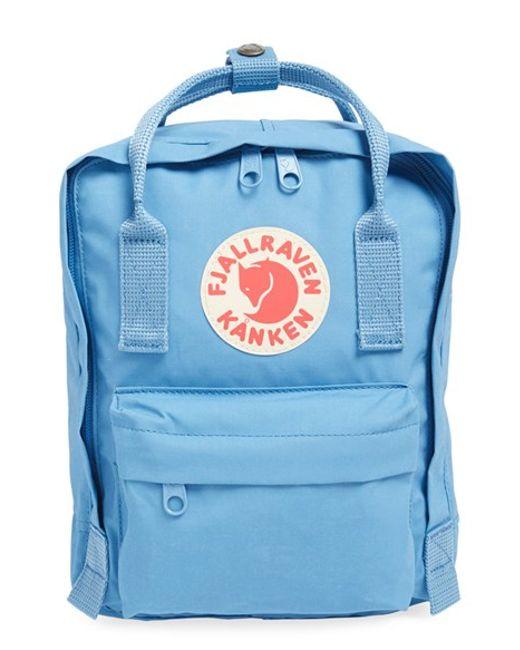 Fjallraven | Blue Mini Kanken Water-Resistant Backpack | Lyst