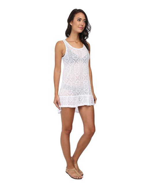 Body Glove | White Ariel Tank Dress Cover-up | Lyst