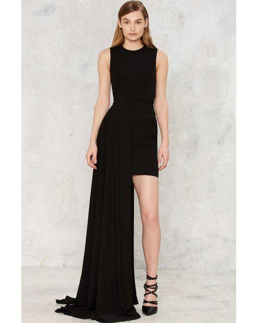 Nasty Gal   Black Aq/aq Aiko Maxi Dress   Lyst