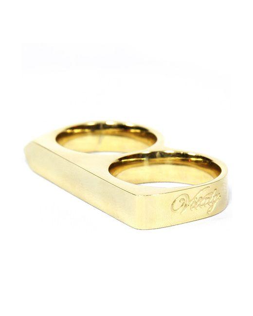 Vitaly | Metallic Treo Ring In Gold | Lyst