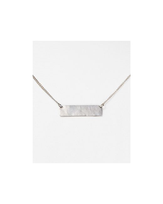 "Phyllis + Rosie   Metallic Phyllis + Rosie Bar Pendant Necklace, 16""   Lyst"