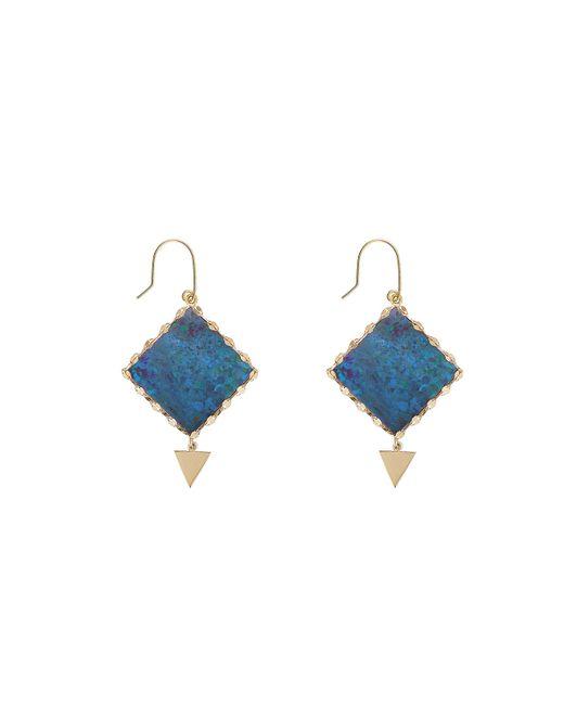 Lana Jewelry   Blue Mini Prix Boulder Opal Earrings   Lyst
