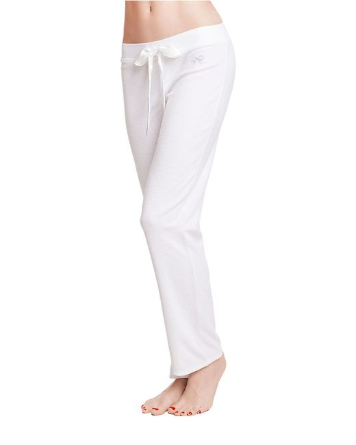 Betsey johnson Baby Terry Cloth Pants in White