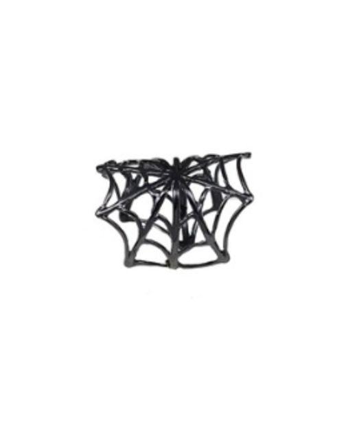 Bernard Delettrez   Black Bronze Web Ring   Lyst