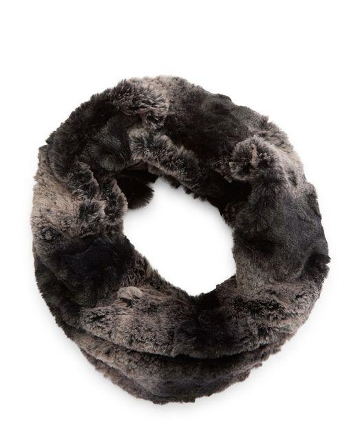Steve Madden | Gray Faux Fur Cowl Scarf | Lyst