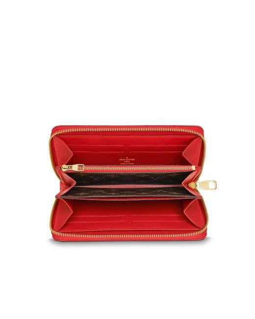 Louis Vuitton   Brown Zippy Wallet Retiro   Lyst