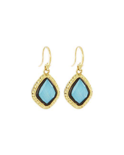 Armenta | Blue Old World Rainbow Moonstone Drop Earrings | Lyst