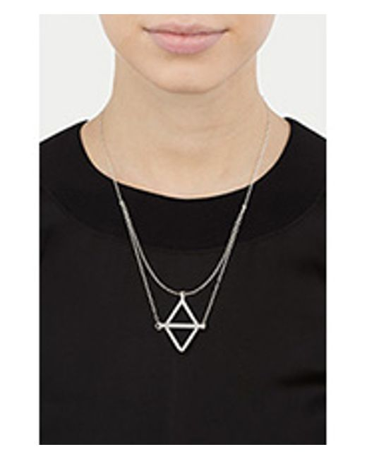 Pamela Love | Natural Balance Necklace - Silver | Lyst