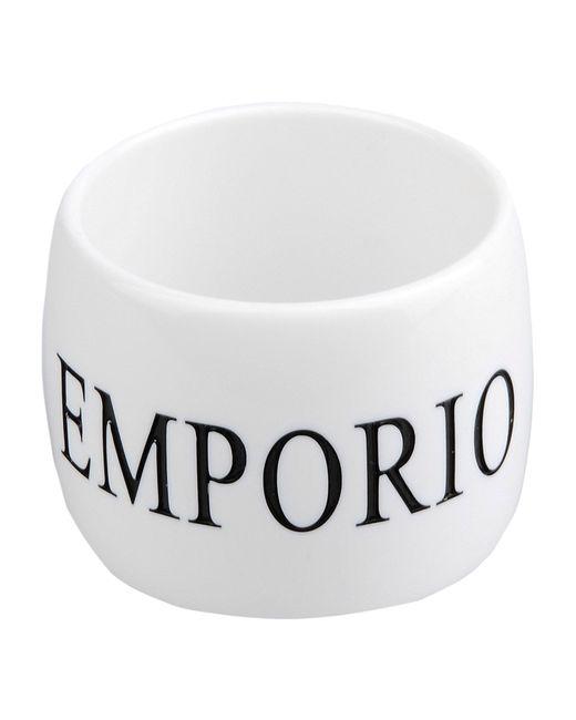 Emporio Armani | White Bracelet | Lyst