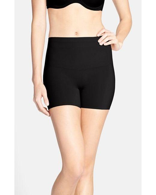 Spanx   Black 'shape My Day' Girl Shorts   Lyst
