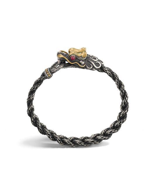 John Hardy | Metallic Classic Chain Beaded Bracelet for Men | Lyst