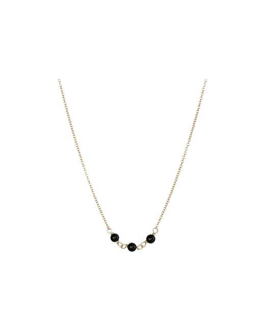 Dogeared   Metallic Triple Healing Gem Onyx Necklace   Lyst