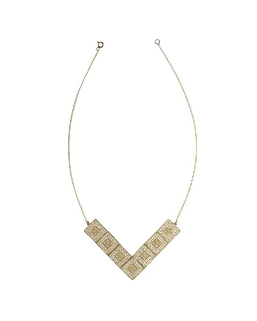 Vanilo | Metallic Vanila Necklace | Lyst