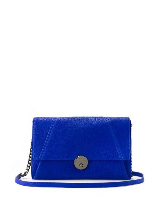 MILLY | Blue Wythe Crossbody Clutch | Lyst