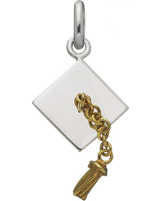 Links of London | Metallic Sterling Silver Graduation Charm | Lyst