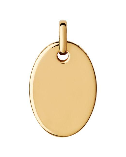 Links of London | Metallic Narrative Yellow Gold Vermeil Pendant | Lyst