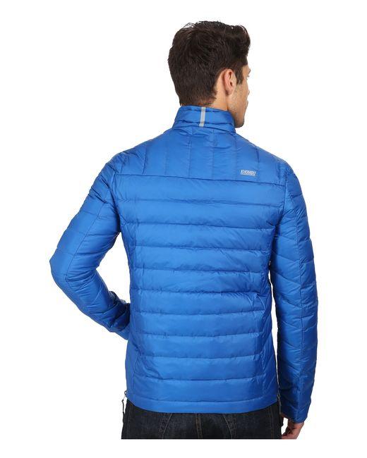 Khombu | Blue Lightweight Puff for Men | Lyst