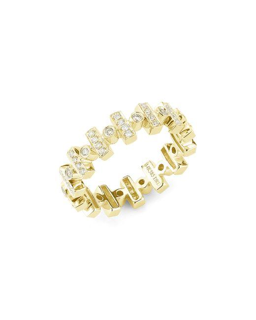 Dana Rebecca   Metallic Yellow Gold Reese Brooklyn Ring   Lyst