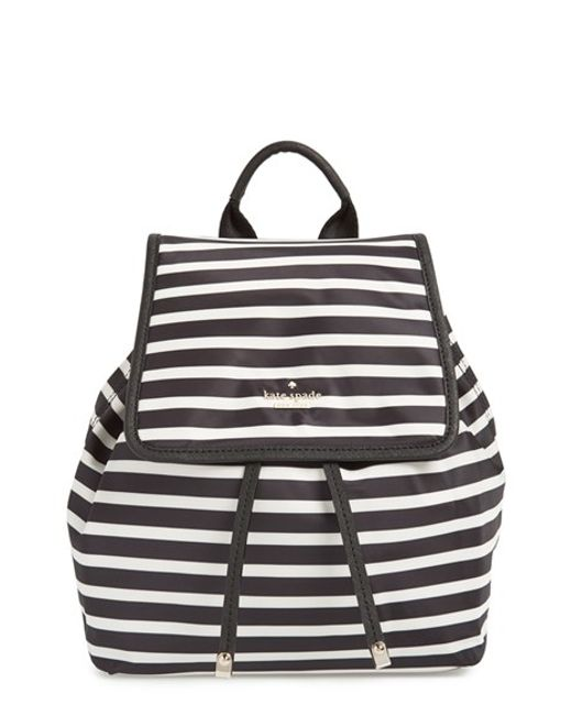 Kate Spade | Black 'molly' Nylon Backpack | Lyst
