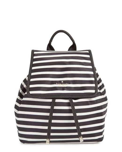 Kate Spade | Black 'molly' Nylon Backpack | Lyst