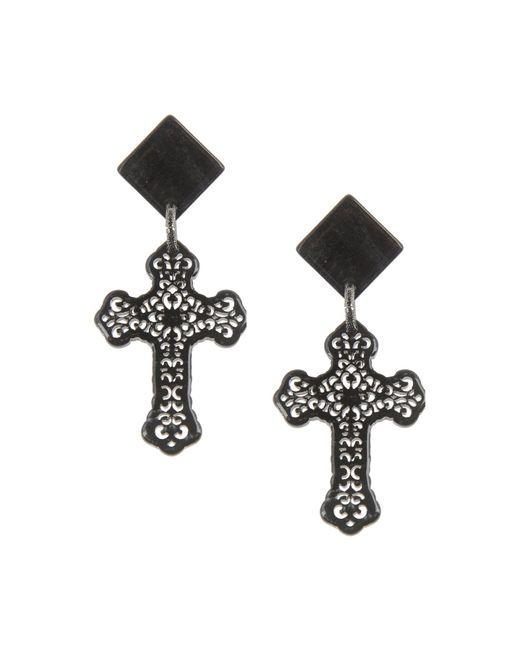 Almala | Black Earrings | Lyst