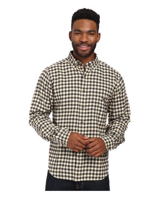 Woolrich | Gray Trout Run Flannel Shirt for Men | Lyst