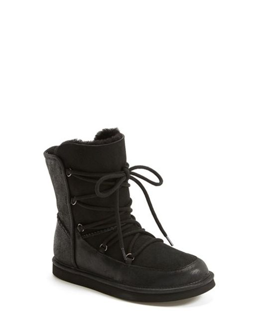 Ugg | Black Lodge Water-Resistant Suede Boots | Lyst