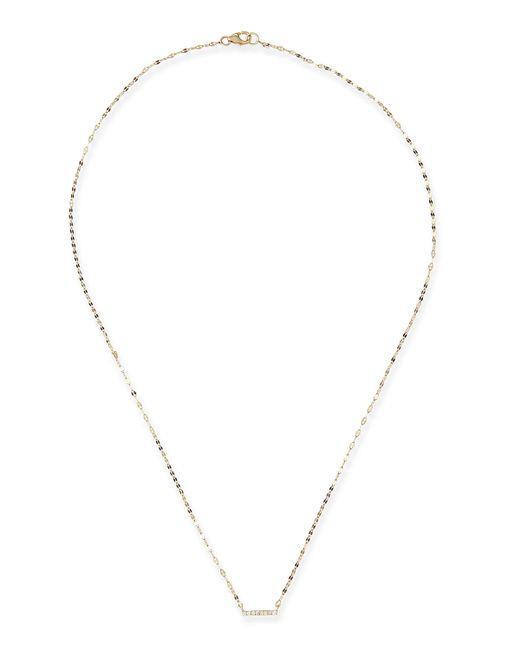 Lana Jewelry | Metallic Diamond Bar Pendant Necklace | Lyst