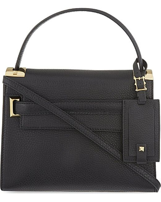 Valentino | Black My Rockstud Small Leather Shoulder Bag | Lyst