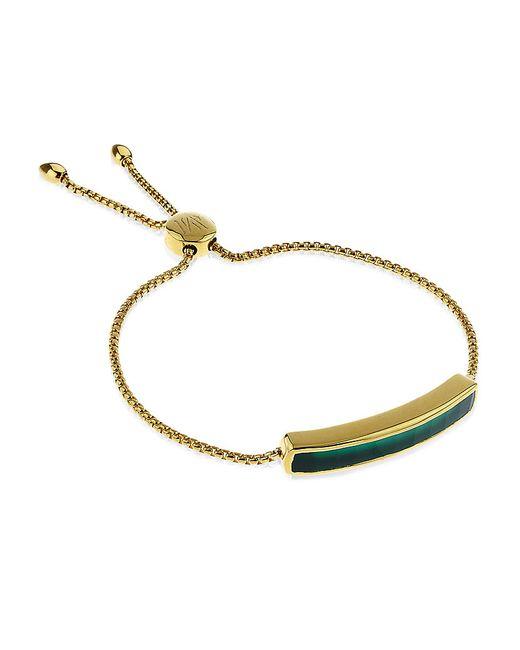 Monica Vinader   Green Baja Chain Bracelet   Lyst