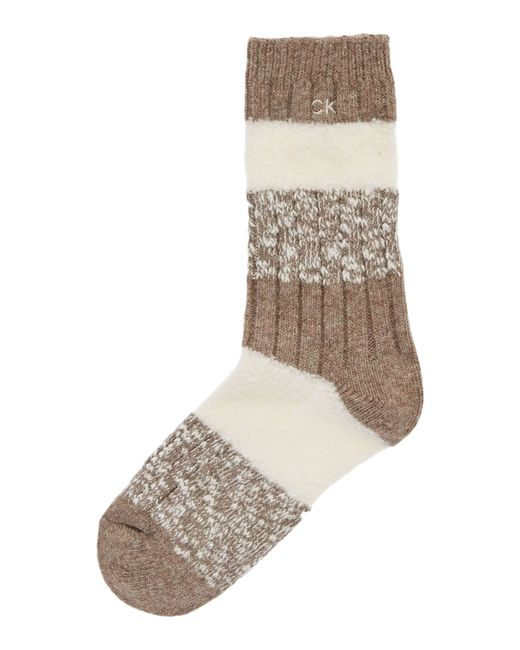 Calvin Klein | Brown Col Ankle Socks | Lyst