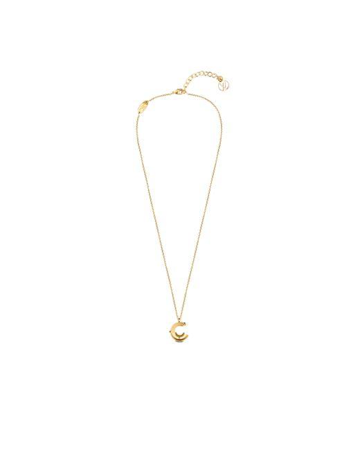 Louis Vuitton | Metallic Lv & Me Necklace, Letter C | Lyst