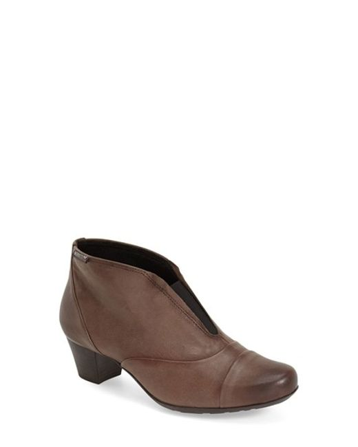 Mephisto | Brown Maddie Leather Ankle Boots | Lyst