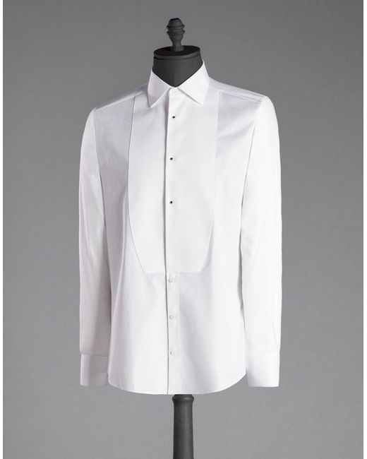 Womens White Dress Shirt French Cuffs