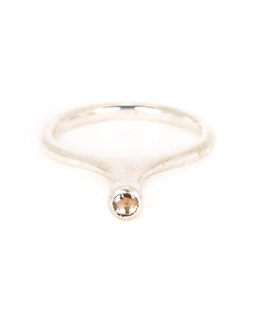 Rosa Maria | Metallic 'jil' Diamond Ring | Lyst