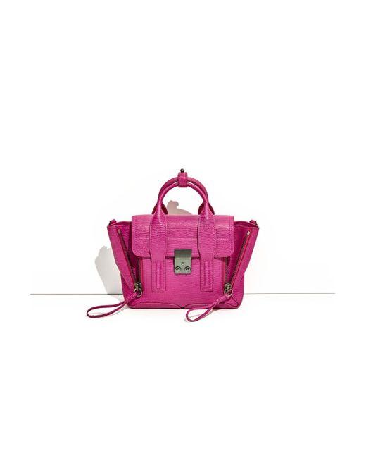 3.1 Phillip Lim - Pink Pashli Mini Satchel - Lyst