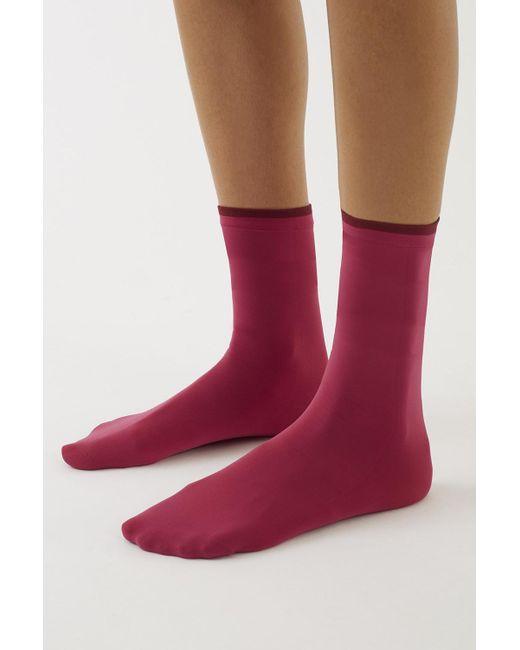3.1 Phillip Lim | Red Falke Fine Socks | Lyst