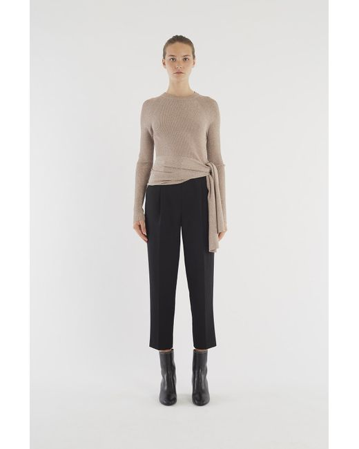 ac716fbf8 3.1 Phillip Lim Ribbed Side-tie Sweater - Lyst