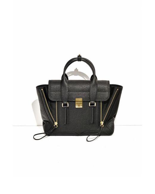 3.1 Phillip Lim - Black Pashli Mini Leather Shoulder Bag - Lyst