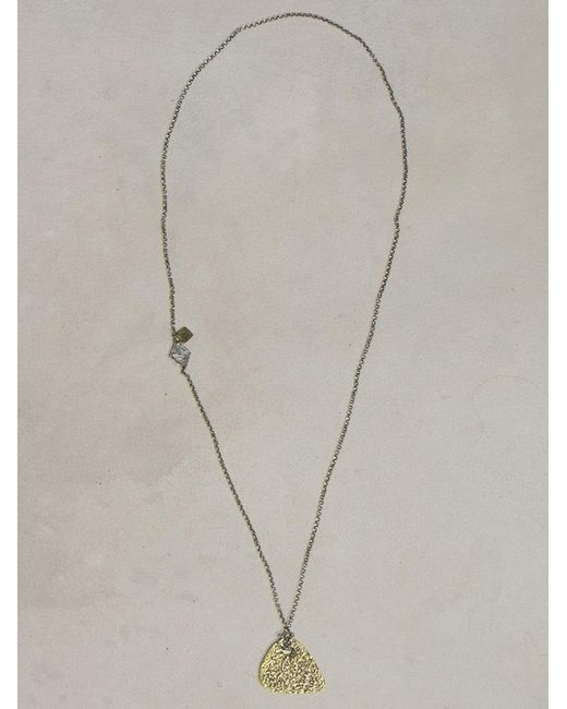 John Varvatos | Metallic Brass Guitar Necklace for Men | Lyst