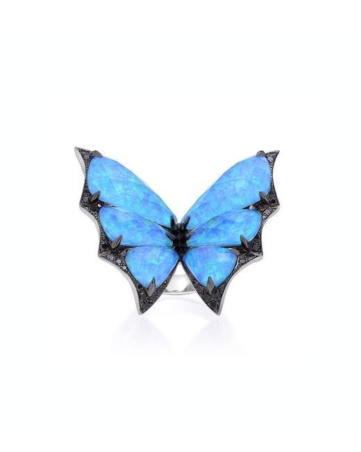 Stephen Webster   Blue Fly by Night Batmoth Ring   Lyst