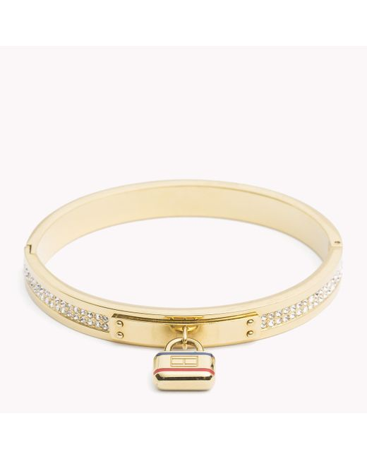 Tommy Hilfiger | Multicolor Lock Bangle | Lyst