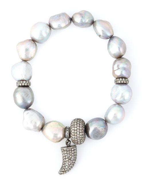 Loree Rodkin   Metallic Embellished Bracelet   Lyst