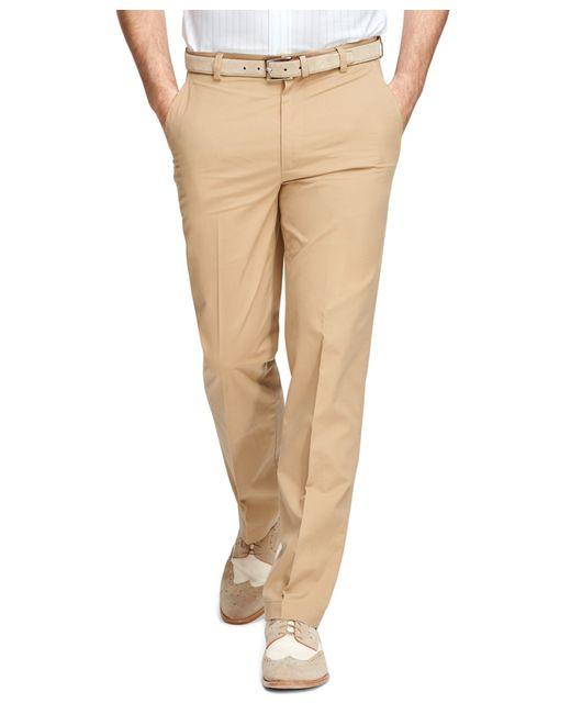 Brooks Brothers | Green Clark Fit Supima® Cotton Poplin Pants for Men | Lyst