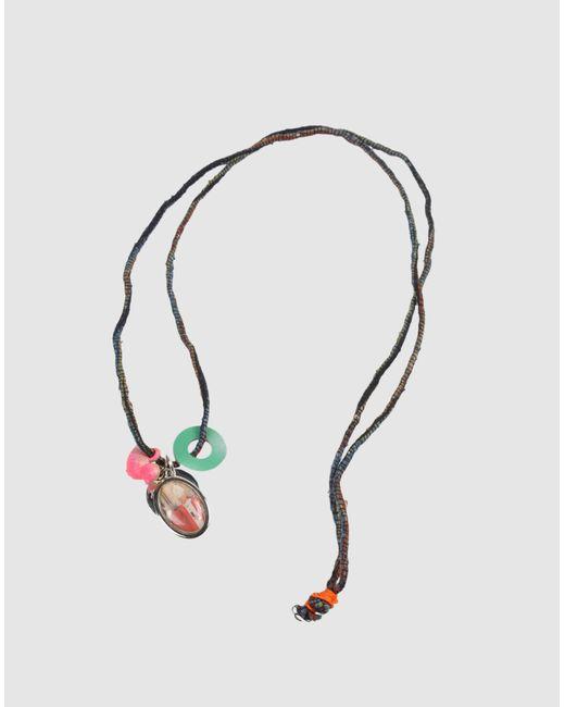 Stefania Pia   Blue Necklace   Lyst